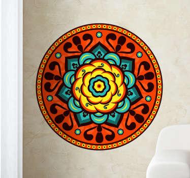 Florist Rosette Wall Sticker