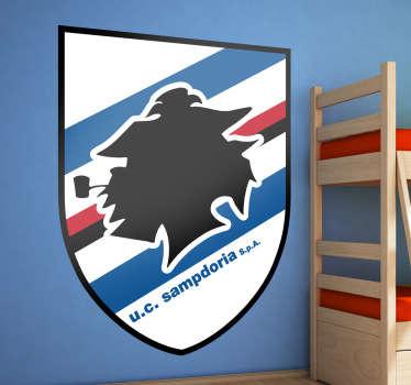 Adesivo murale logo UC Sampdoria