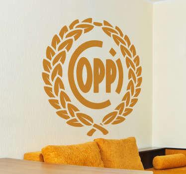 Sticker decorativo Fausto Coppi