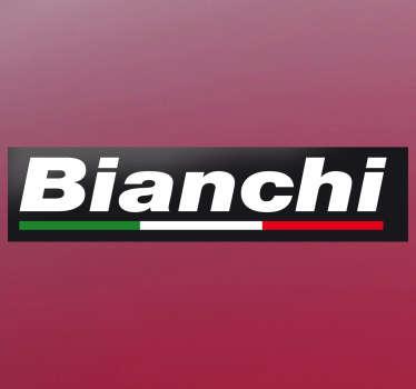 Vinilo logotipo marca Bianchi