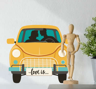 Young Love Wall Sticker