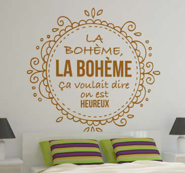 Stencil muro Charles Aznavour