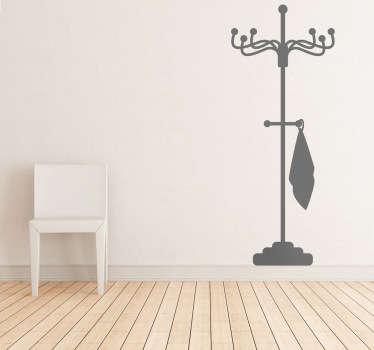 ヴィンテージワードローブリビングルームの壁の装飾