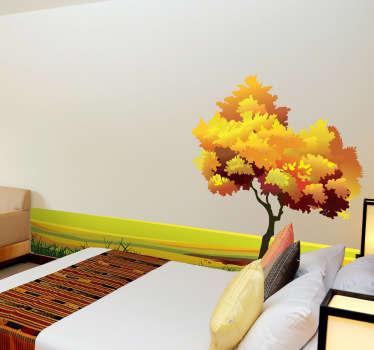 Adesivi murali natura in camere da letto   tenstickers
