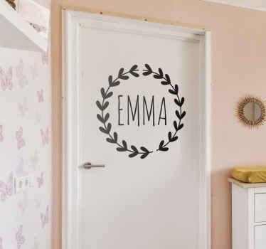 Personalised Room Kids Sticker