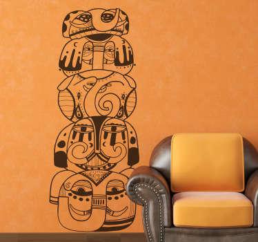 Elephant Totem Wall Sticker