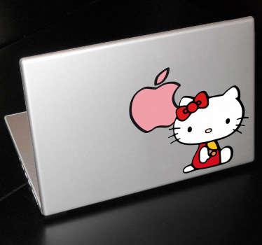 Skin adesiva Hello Kitty Apple