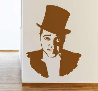 Duke Ellington Portrait Decorative Sticker