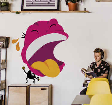 Laughing Man Wall Sticker