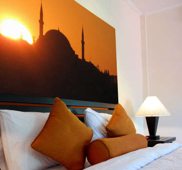 Fototapeta zachód słońca - Istambuł
