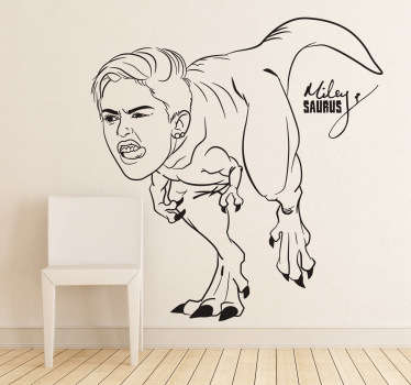 Miley Saurus sticker