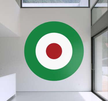 Stickers cercles concentriques