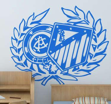 Naklejka emblemat Atletico Madryt