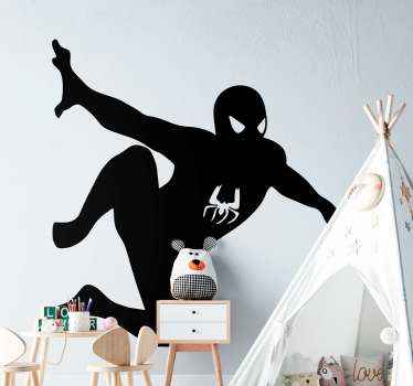 Give your teen or kid the treat and thrill of their superhero character with this  superhero sticker of Spiderman. Easy to apply  on any flat surface.