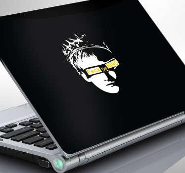 F*ck The King Laptop Sticker