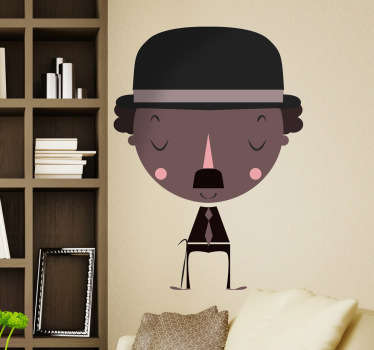 Chaplin Decorative Sticker