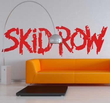 Skid Row Band Sticker