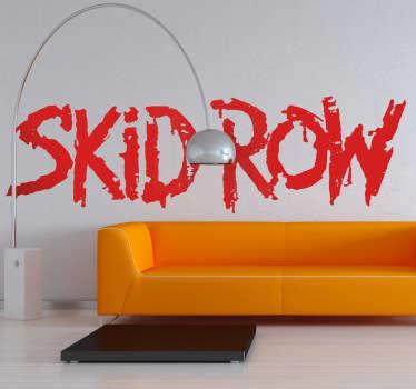 Adesivo decorativo Skid Row