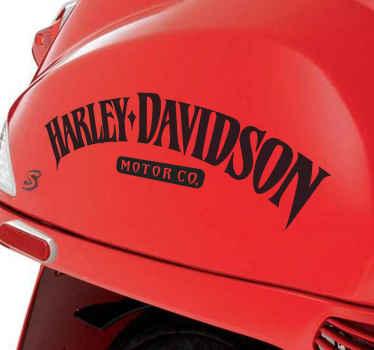 Sticker decorativo Harley Davidson company