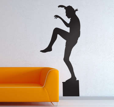 Karate Kid Wall Sticker