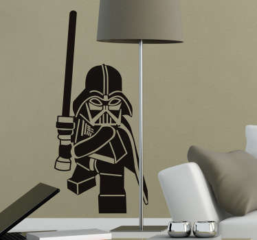 Lego Darth Vader Wall Sticker