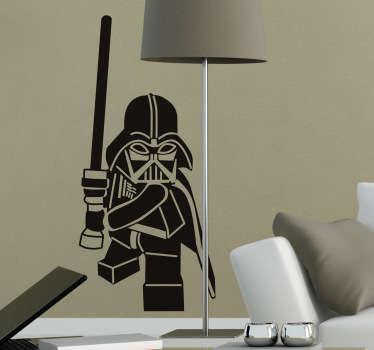 Darth Vader Lego wallsticker