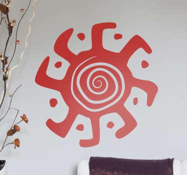 Tribal Spirale Aufkleber