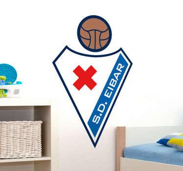 ?Adhesivo con el emblema característico de este histórico equipo vasco de fútbol.