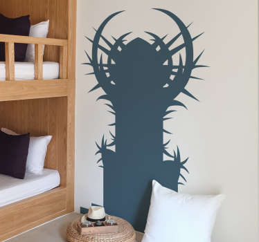 Game of Thrones Iron Throne Wall Sticker