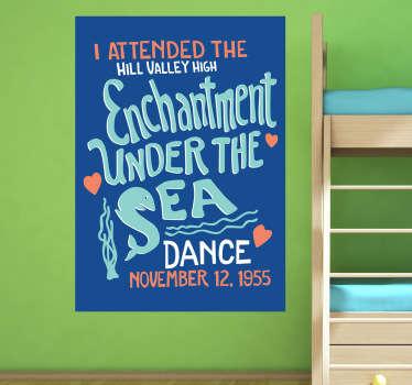 Vinilo póster enchantment under the sea