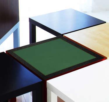 Naklejka dekoracyjna stół do pokera