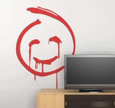 Stencil muro pittura Mentalista