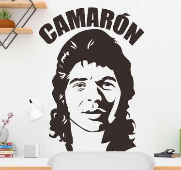 Naklejka Camarón