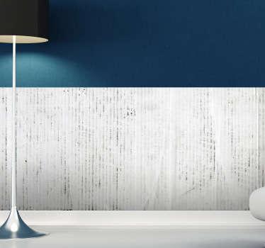 Naklejka biało-szara dekoracja