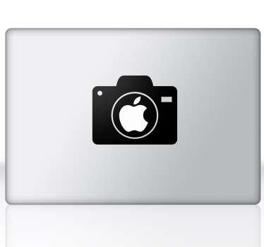 Naklejka na Macbooka aparat