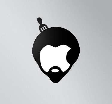 Adesivo MacBook Afro Pettine