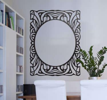 Vinilo decorativo bonito marco