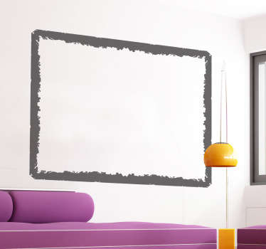 Grunge style decorative frame you can place anywhere in your home.