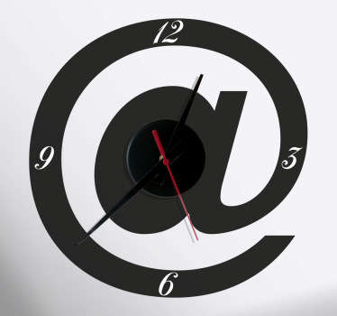 Naklejka zegar znak małpy