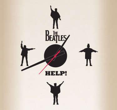 Vinilo reloj Beatles Help