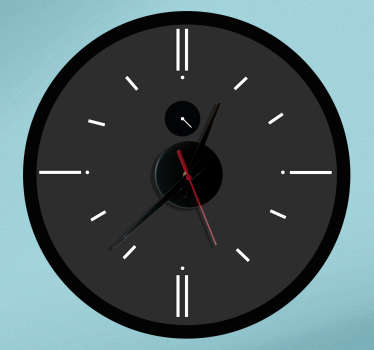 Naklejka zegar analogiczny