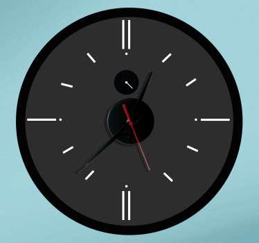 Analoge Uhr Aufkleber