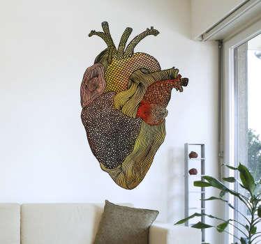 Sticker holly molly heart