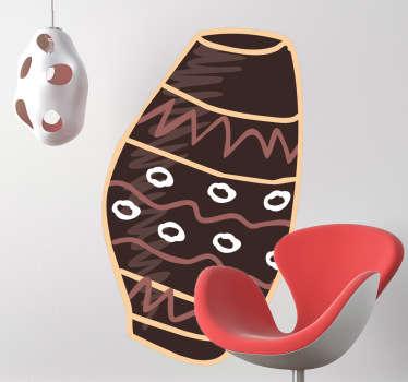 Naklejka dekoracyjna bęben afrykański
