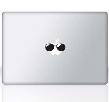 Sunglasses MacBook Sticker