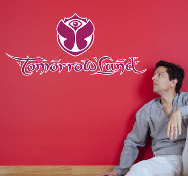 Sticker Logo Tomorrowland