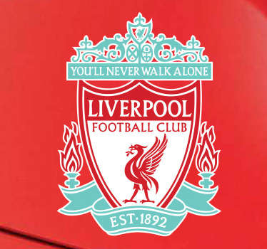 Liverpool F.C. Shield Bumper Sticker