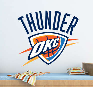 Sticker Oklahoma City Thunder