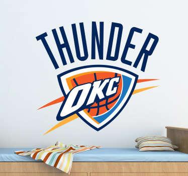 Naklejka Oklahoma City Thunder