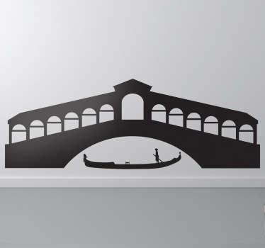 Decals - Inspired by the Italian city of Venice where there are no cars or roadways, just canals and boats.